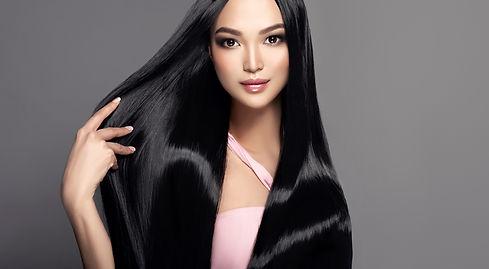 Beautiful shiny black hair Keilor East Hairdresser Salon