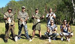 Red Deer Hunting Queensland Australia Wi