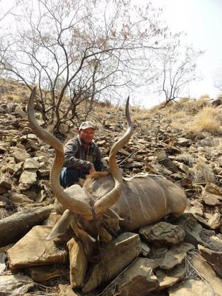 Hunting Kudu In Africa