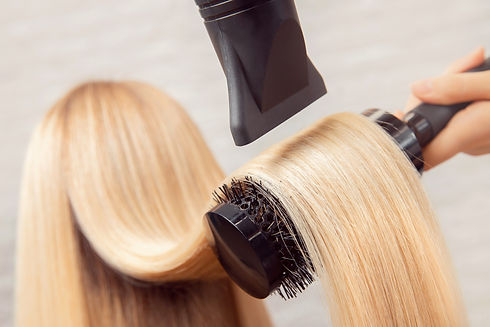 Close-up of hair dryer, concept cut salo