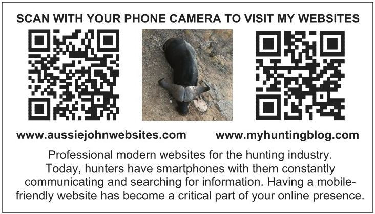 Outfitter Business Cards - AussieJohn Websites