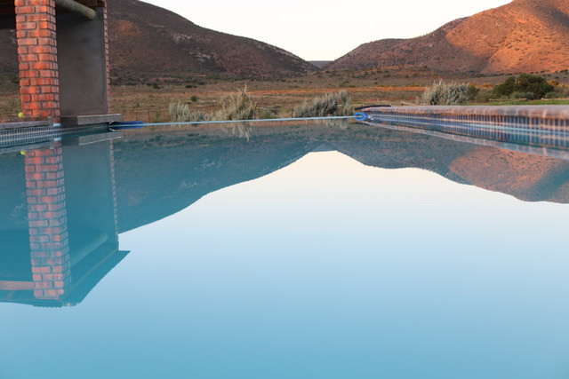 Relax In Or Around Our Safari Lodge Pool On The Eastern Cape Of South Africa With Royal Karoo Safaris