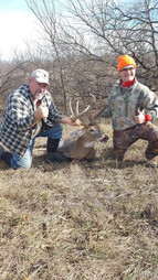 Hunt Kansas Trophy Whitetail Buck