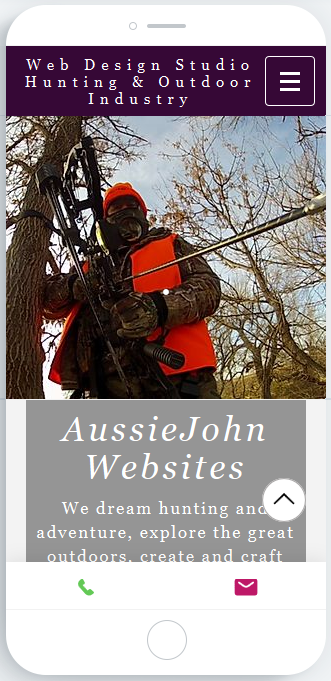 Mobile Friendly Outfitter Website Design By AussieJohn
