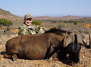 Eastern Cape Plains Game Hunting Black W