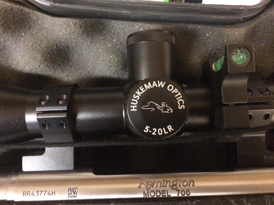 Huskemaw Blue Diamond Scope 5-20 LR AussieJohns Remington Sendero 7mm