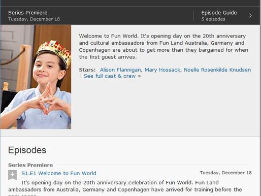 Fun World IMDB Cast Page