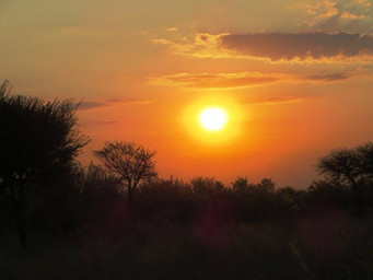 African Sunset Is Like No Other