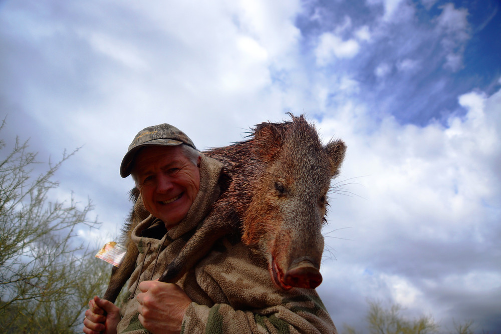 AussieJohn Hunts Javelina In Arizona