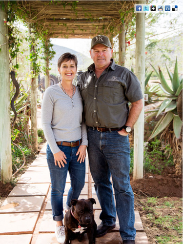 Laura & Rob Birch Royal Karoo Safaris Ho