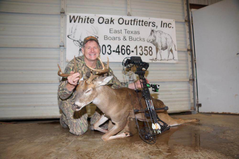 Hunting Texas Whitetail With www.texasboarsnbucks.com