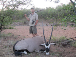 Oryx-Gemsbok Hunting Safaris