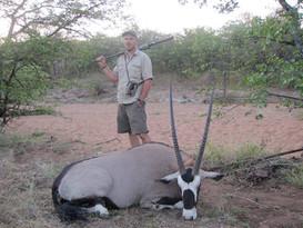 Oryx - Gemsbok Large Plains Game Hunting South Africa