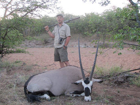Oryx - Gemsbok Large Plains Game Hunting South Africa