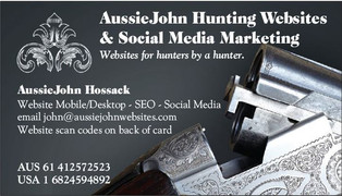 Outfitter Hunting Website Designs