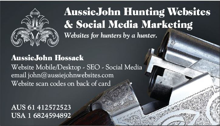 Hunting Guide Hunting Outfitter Website Designs