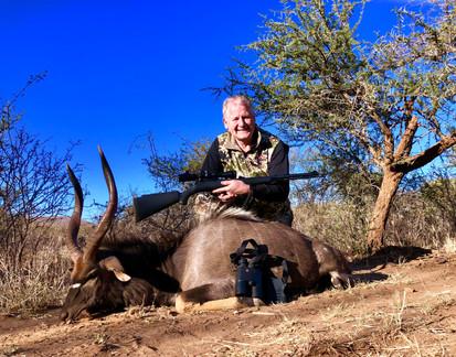 Nyala Bull 50 Cal Black Powder Muzzle Lo
