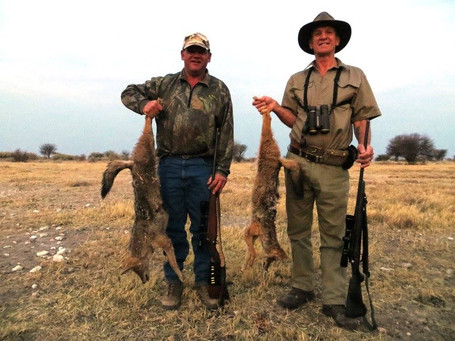 Africa Predator Hunting With Downunder Taxidermy studio & Guiding Services