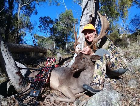 April 2018 Huntress Jan NSW Falow Buck
