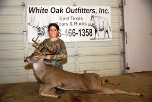 East Texas Whitetail Buck