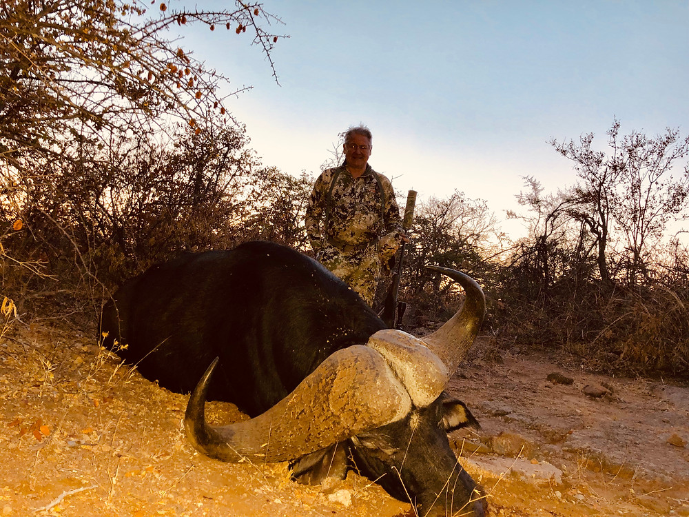 Hunting Limpopo South Africa For Cape buffalo 44.6 Inches