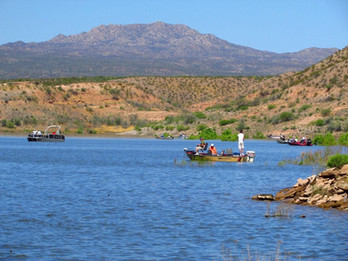 Lake Fishing With Permite On San Carlos Apache Triibal Lands