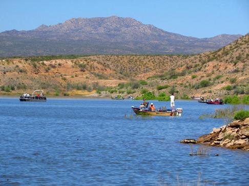 Lake Fishing With Permite On San Carlos Apache Triibal Lands