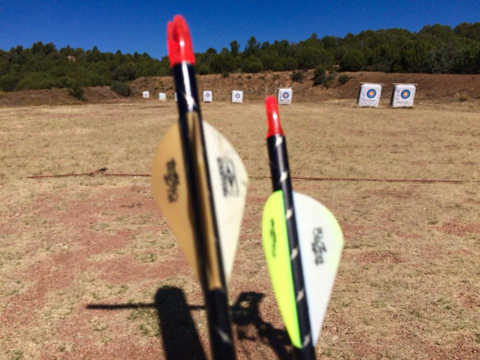 AussieJohn at Payson Arizona Archery Range Mathews Halon 32 Bow