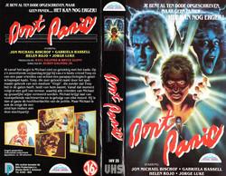 Don't Panic Norwegian International Home Video VHS