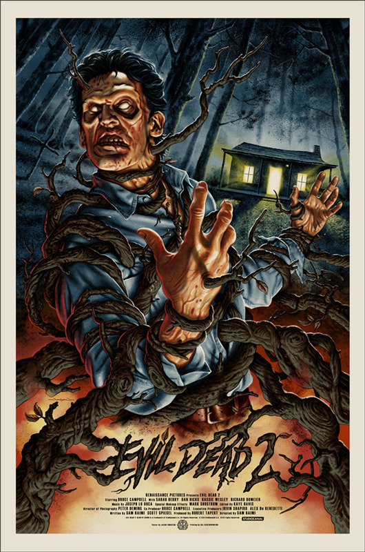 Jason-Edmiston-Evil-Dead-2-Mondo-Movie-Poster