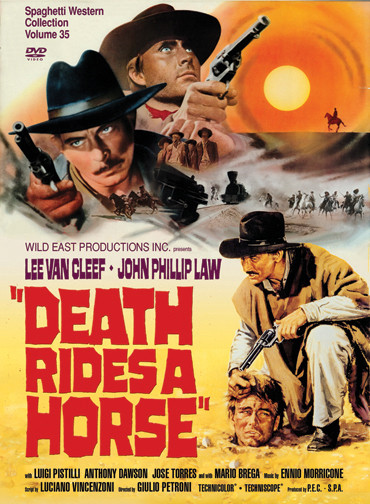 """""""Death Rides A Horse"""" was a major influence on some of the scenes and a subplot from ESCAPE FROM CANNIBAL FARM"""