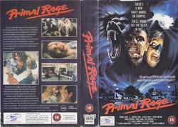 Primal Rage UK VHS cover