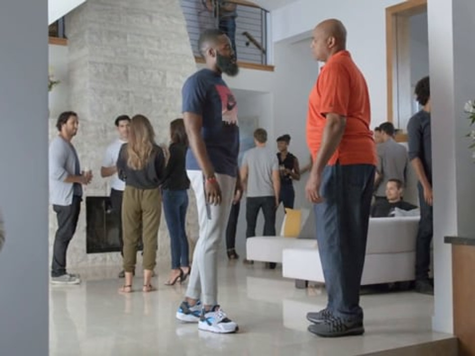 Foot Locker  with Charles Barkley & James Harden