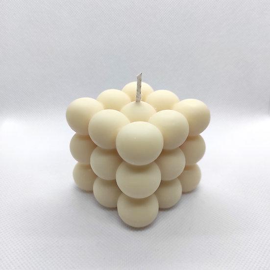 Cream Coconut Bubble