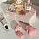 Thumbnail: Pink Raspberry Sorbet Cloud Trio
