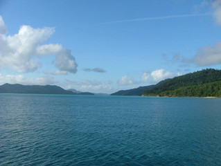 Western side of Whitsunday Island