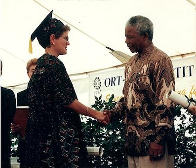 Nelson Rolihlahla Mandela, an inspiration