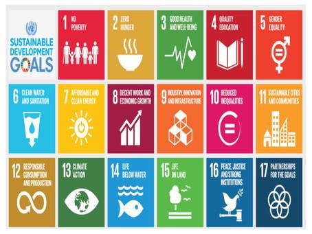 Encouraging  awareness of the UN Sustainable Development Goals