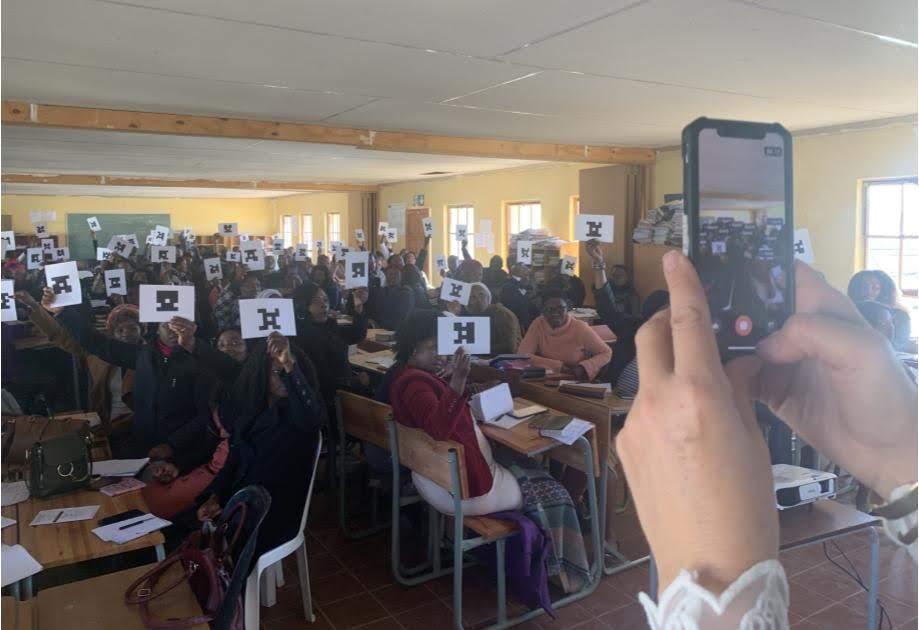 Plickers Eastern Cape teachers