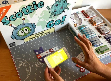 Scottie Go Edu: puzzle based coding