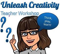 advert unleash creativity teacher worksh
