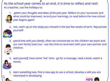 Teacher Focus on Self - School's Out