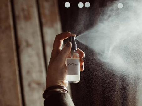 DIY room + body spray