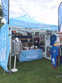 Earth Monk display stand