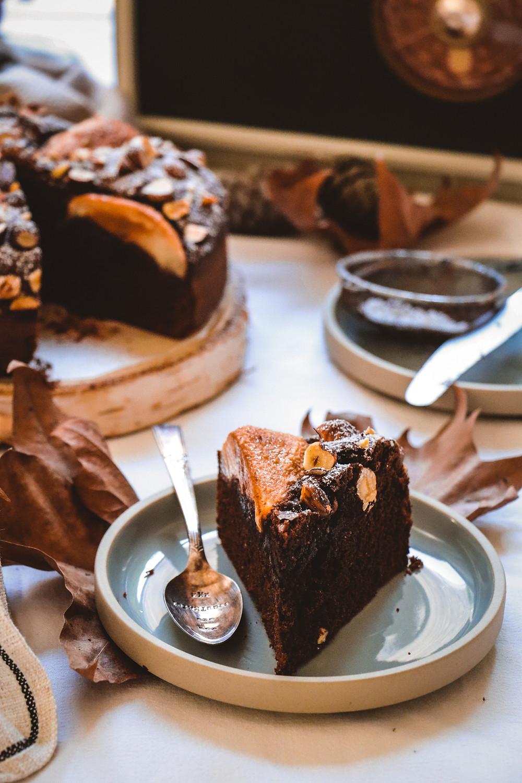 Gâteau poires chocolat, Elodie's Bakery