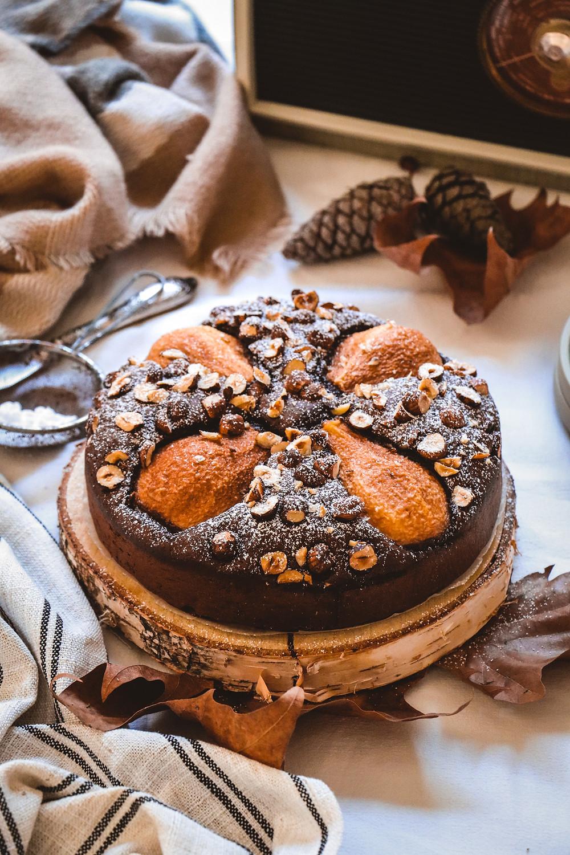 Gâteau poires et chocolat, Elodie's Bakery