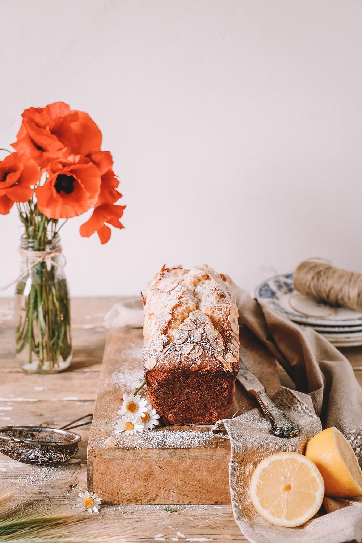 Cake au citron - Lemon loaf cake - Elodie's Bakery