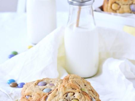 Cookies au beurre de cacahuète et Smarties™