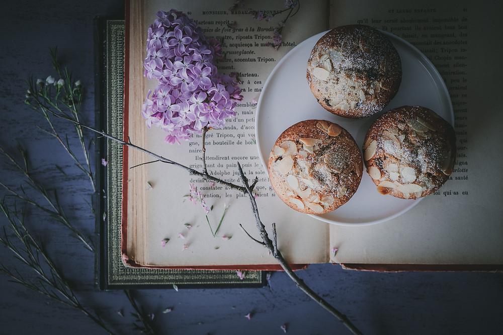 Financiers aux noisettes et chocolat, Elodie's Bakery