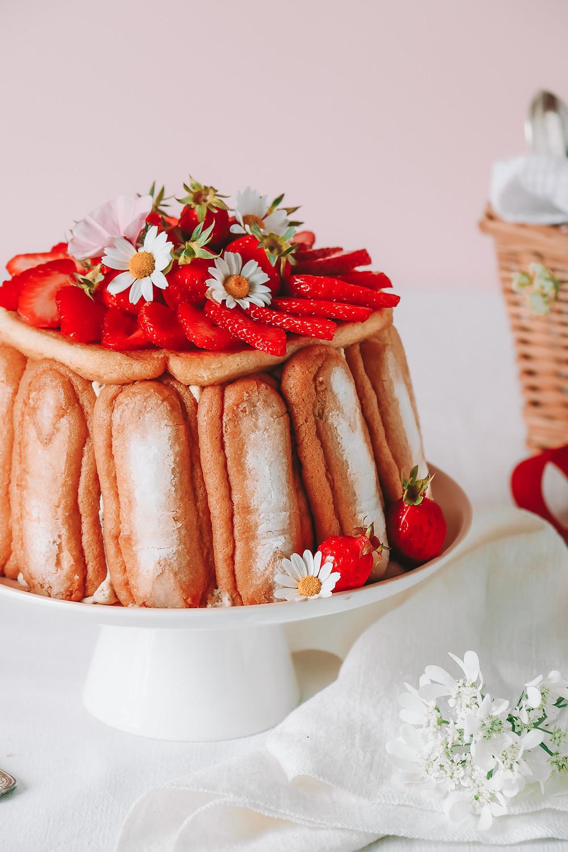 Charlotte aux fraises_Elodie's Bakery